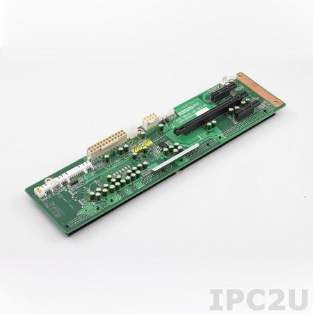 PCE-5B06V-00A1E Объединительная плата PICMG 1.3 6 слотов, 1xPICMG 1.3, 4xPCI Express x 1, 1xPCI Express x16