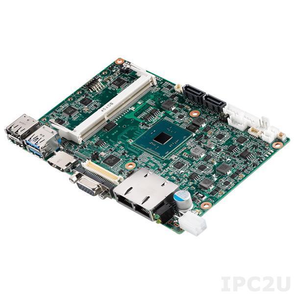 PCM-9310CD-S6A1E Процессорная плата формата 3.5 с Intel Celeron N3060 1.6ГГц, DDR3L, VGA, HDMI, 48-bit LVDS, eDP, 2xGbE LAN, 4xCOM, 2xUSB 3.0, 4xUSB 2.0, Mini PCIe, mSATA, SUSI API