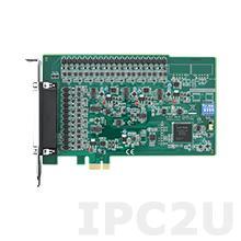 PCIE-1824-AE Плата ввода-вывода PCI Express, 32/16 каналов аналогового выхода, 16-bit