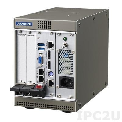 MIC-3106-00-AE Корпус 4U CompactPCI с 3U 2-слотовой объединительной платой 32-бит и источником питания 180Вт ATX