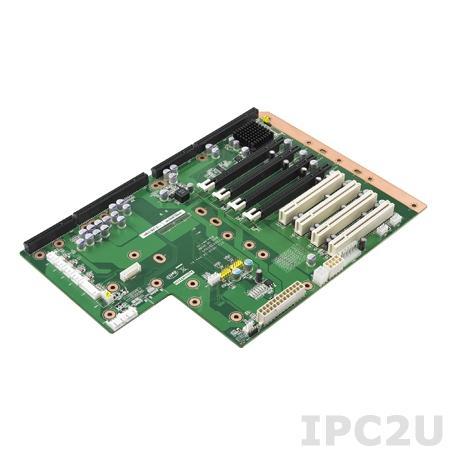 PCE-5B09-04A1E Объединительная плата PICMG 1.3, 9 слотов, 1xPICMG 1.3, 1xPCIe x16, 3xPCIe x4, 4xPCI