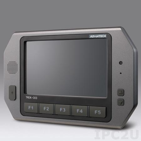 """TREK-303R-HA0E Монитор для транспорта с 7"""" TFT LCD c IP31 по всему корпусу, IP54 с крышкой, 800x480, резистивный сенсорный экран, Smart Display port, 1xUSB 2.0, питание 12В DC"""
