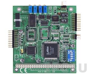 PCM-3718H-CE PC/104 адаптер 16 каналов АЦП 12 бит 100 кГц, 8 каналов дискретного ввода/вывода TTL