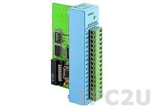 ADAM-5060-AE Модуль вывода, 6 каналов релейного вывода, переменный ток: 125В @ 0.6A; 250В @ 0.3А