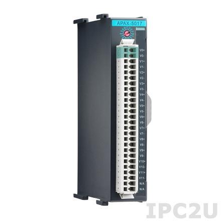 APAX-5017-AE Модуль ввода, 12 каналов аналогового ввода