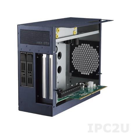 MIC-75S20-00A1E Корзина для 2 x HDD с поддержкой горячей замены для компактных компьютеров серии MIC-7, 1xPCIe x16, 1xPCIe x4