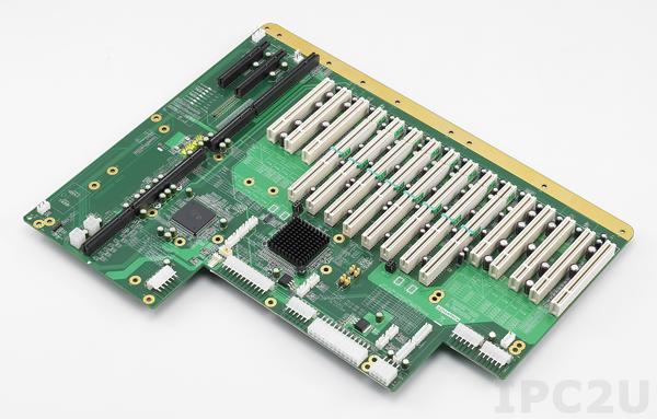 PCE-7B19-88B1E Объединительная плата PICMG 1.3 19 слотов, 1xPICMG 1.3, 8xPCI, 2xPCI Express x8, 8xPCI-X