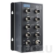 EKI-9508G-PH-AE Неуправляемый коммутатор Ethernet, 8 портов M12 PoE, питание 72/96/110В DC, EN50155