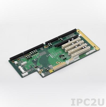 PCE-5B06-04A1E Объединительная плата PICMG 1.3 6 слотов, 1xPICMG 1.3, 4xPCI, 1xPCI Express x16