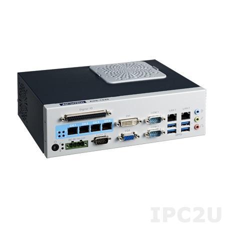 "AIIS-1240-00A1E Компактный компьютер с сокетом LGA1155 для Intel Core i3/i5/i7, чипсет Intel H61, DDR3, 4xGB PoE, 4xUSB 3.0, 4xUSB 2.0, CFast, отсек 1xSATA 2.5"""
