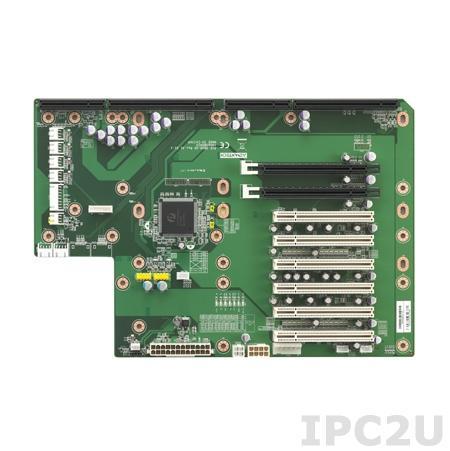 PCE-5B09-06A1E Объединительная плата PICMG 1.3 10 слотов, 1xPICMG 1.3, 1xPCI Express x16, 1xPCI Express x4, 6xPCI