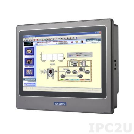 "WOP-2070T-N2AE Панель оператора с TFT дисплеем 7"" 800 x 400, 32-битным процессором RISC 200МГц, поддержка процессора RISC 200-бит 200МГц, 64MB, 8MB(NOR), 128MB (NAND), Ethernet, Micro-SD, IP66 по передней панели, 24VDC-in"