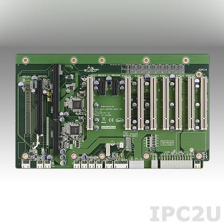 PCE-3B12-08A1E Объединительная плата половинной длины PICMG 1.3, 12 слотов, 1xPICMG, 1xPCIe x16, 2xPCIe x1, 8xPCI
