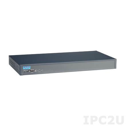 EKI-1528N-CE Преобразователь последовательных интерфейсов, 8xRS-232/422/485 разъем RJ45, 2xLAN, питание AC, -10...+60C