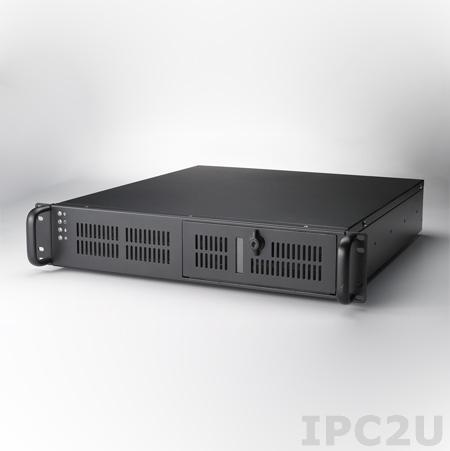 """ACP-2320MB-00CE 19"""" корпус 2U под материнскую плату ATX/MicroATX , 1xSlim ODD, 2x3.5"""" """"Горячая"""" замена, 2x3.5"""" внутренних, 2xUSB 2.0"""