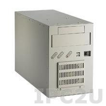 """IPC-6606BP-00XE Монтируемый на стену корпус для 6-слотовой объединительной платы, отсеки 1x5.25""""/1x3.5"""", без источника питания"""