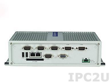 ARK-3360F-D5A1E Компактный компьютер с Intel Atom D510, VGA, 3xGB LAN, 6xCOM, 6xUSB, miniPCIe, miniPCI