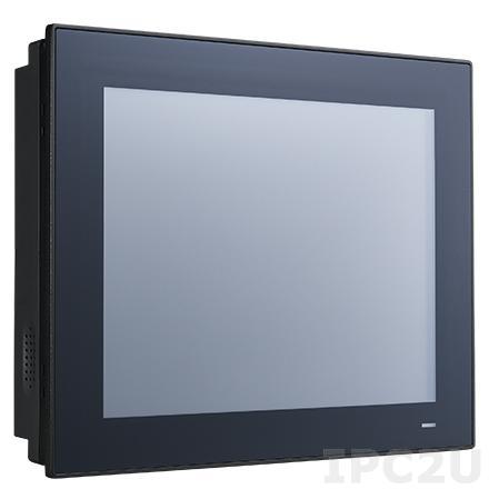"PPC-3100-RE9A Панельная рабочая станция с 10.4"" TFT SVGA LED, резистивный сенсорный экран, Intel Atom E3940 1.6ГГц, DDR3L, VGA, HDMI, 2xGb LAN, 5xCOM, 4xUSB 3.0, отсек 1x2.5"" SATA HDD, mSATA, Audio, питание 9...32В DC"