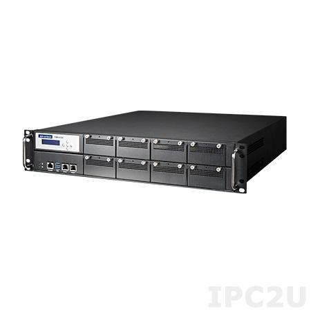 "FWA-4130F-0001E Сервер сетевой безопасности 2U, Intel Core i3/i5/i7 6th/7th Gen, Xeon E3 v5/v6, C236, 4x288-pin DDR4 2133/2400MHz UDIMM до 64 Гб ECC, 2xGbE LAN Bypass, 1x2.5"" SATA, 8xNMC, 2xUSB 3.0, 1xmSATA, источник питания (1+1) 300 Вт"