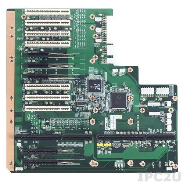 PCE-7B13-07A1E Объединительная плата PICMG 1.3 13 слотов, 1xPICMG 1.3, 7xPCI, 2xPCI Express x8, 3xPCI Express x4