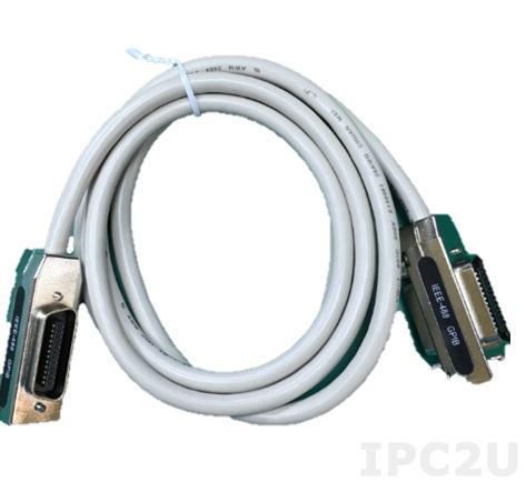 PCL-10488-2E Кабель IEEE-488, 2x24-pin IEEE 488, 2м, ПВХ, 5В