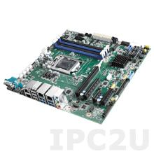 AIMB-586L-00A1E Процессорная плата Micro-ATX Intel Pentium/Core i3/i5/i7/8th Gen, LGA 1151, 2xDP++/HDMI, Intel H310, 4x288-pin DDR4 U-DIMM,2xCOM, 10xUSB, 4xSATA III, 1xGbE LAN, 1xPCI x16 (x4)