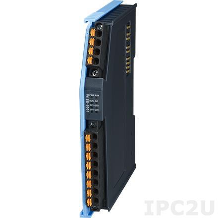AMAX-5001-A Модуль ввода, 4 канала дискретного ввода, мокрый контакт, питание 24В DC