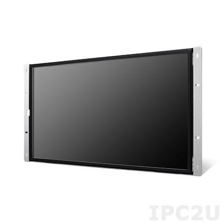"IDS-3121WR-25FHA1E 21.5"" Full HD 1920 x 1080 бескорпусной монитор, 250 нит, резистивный сенсорный экран, VGA, DVI, USB, питание 12В DC"