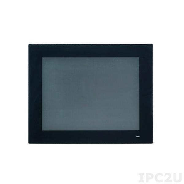 """PPC-3151-650AE Безвентиляторная панельная рабочая станция с 15"""" TFT XGA LCD LED, емкостный сенс.экран, Intel Core i5-6300U 2.4ГГц, 1xSO-DIMM DDR4 1866/2133, 1x2.5"""" SATA bay, M/2, VGA, DisplayPort, 2xGbE LAN, 3xCOM, 4xUSB 3.0, MiniPCIe, PCIe x4, Audio, 9..32В DC"""