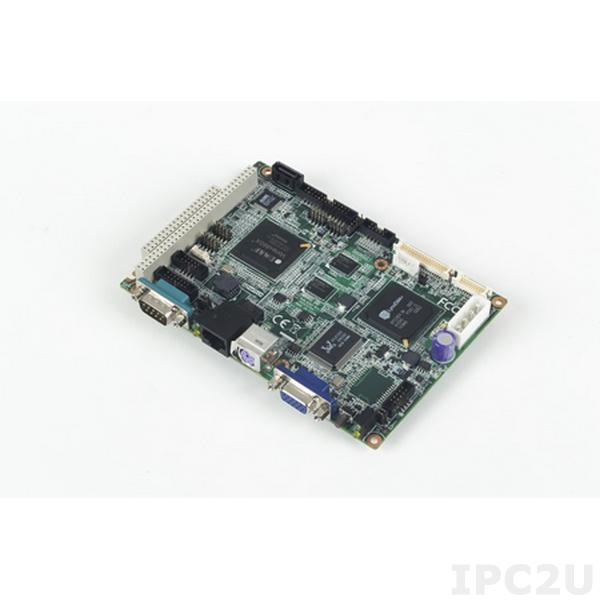 """PCM-9343FGZ-S6A1E Процессорная плата формата 3.5"""" с DM&P Vortex86DX 800 МГц, 512Мб DDR2 RAM, VGA, LVDS, TTL, 2xLAN, 4xCOM, 4xUSB 2.0, LPT, GPIO, PC/104, I2C, SUSI 3.0, -20...+80C"""