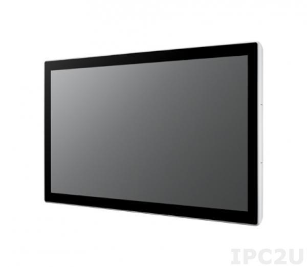 "UTC-320FP-ATB0E Панельная рабочая станция с 21.5"" FHD TFT LCD, проекционно-емк.сенс.экран, Intel Celeron J1900 2.0ГГц, 4Гб DDR3L, HDMI, 2xGbE LAN, 2xCOM, 2xUSB 2.0/4xUSB 3.0, Audio, MiniPCIe/mSATA, IP65 по передней панели"