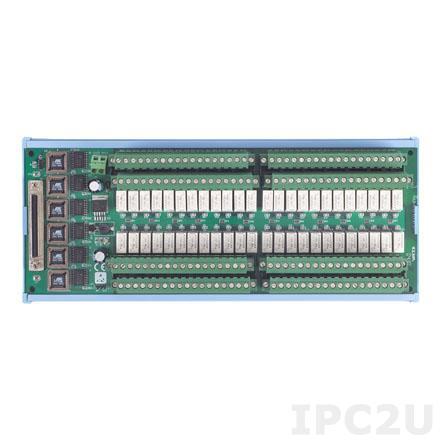 PCLD-8762-AE Плата релейной коммутации, 48 каналов((120VAC, 0.5A, 30VDC, 1A))