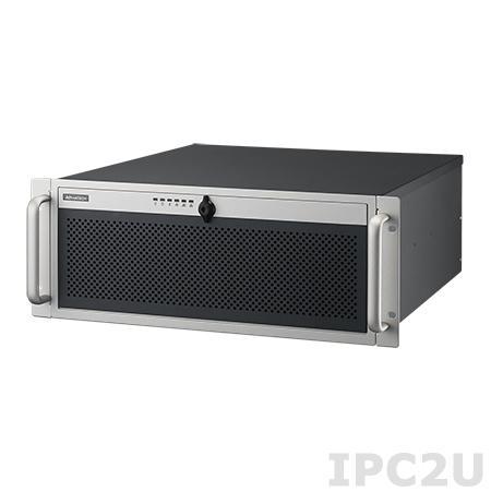 """ACP-4340MB-00XE 19"""" корпус 4U для ATX материнской платы, отсеки 4 x 3.5""""/2.5"""" SAS/SATA, горячая замена, без источника питания"""