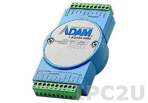 ADAM-4080-DE Модуль ввода-вывода, 2 канала дискретного ввода, 2 канала дискретного вывода, Modbus ASCII