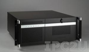 "ACP-4320MB-00BE 19"" корпус 4U для ATX материнской платы, отсеки 2xSAS/SATA HDD, без источника питания"
