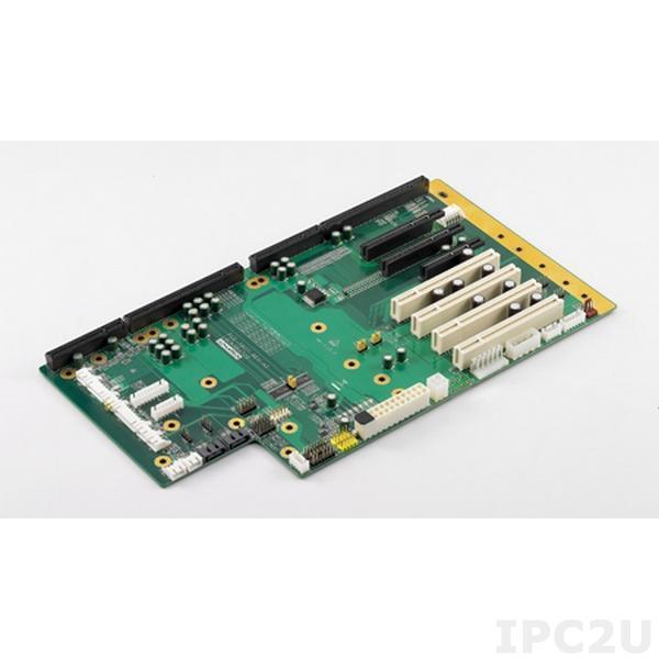 PCE-7B08-04A1E Объединительная плата PICMG 1.3 8 слотов, 1xPICMG 1.3, 2xPCI Express x8, 1xPCI Express x4, 4xPCI