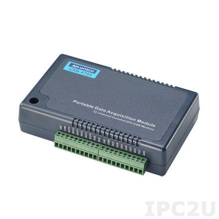 USB-4750-BE Модуль ввода-вывода, 16xDI, 16xDO, USB
