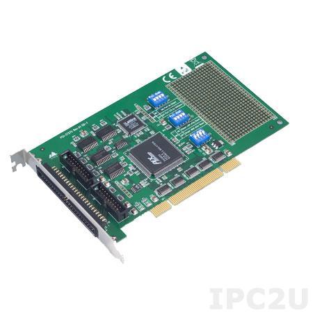 PCI-1737U-BE Плата ввода-вывода Universal PCI, 24DIO