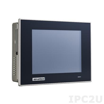 """TPC-651H-E3AE Безвентиляторная панельная рабочая станция с 5.7"""" TFT LCD, резистивный сенсорный экран, Intel Atom E3827 1.75ГГц, 4Гб DDR3L, CF, 2xCOM, 2xUSB, 2xGbE LAN, питание 18-32В DC"""