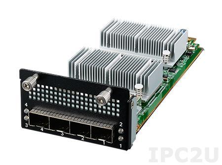 NMC-4001-10E Коммуникационный модуль 4 порта 10GbE SFP+