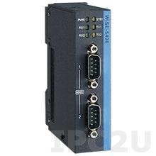 AMAX-5490-A Коммутационный модуль 2xRS-232/422/485, питание 24В DC