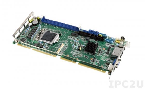 PCE-7129G2-00A2E Процессорная плата PICMG, сокет LGA1151 для Intel Xeon/Core i3/Pentium с DDR4, VGA, DP, DVI-D, 2xGbE LAN, 2xCOM, 1xUSB 3.0 (на задней панели), 4xUSB 3.0, 7xUSB 2.0 (внутр.), SATA 3.0, Audio