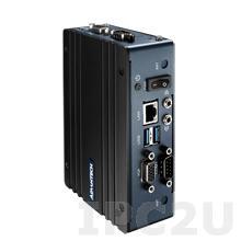 EPC-S201M00-S1A1E Компактный компьютер с Intel Atom N3350 1.6ГГц, до 8Гб DDR3L, VGA, 2xCOM, 2xUSB 3.0, 1xGbE LAN, 1xDIO, Line-in, Line-out, 2xminiPCIe, 12VDC-in, 0...+50C