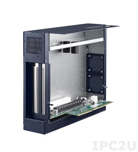 MIC-75M11-00A1E 2-слотовый модуль расширения для компактных компьютеров серии MIC-7, 1xPCIe x16, 1xPCI