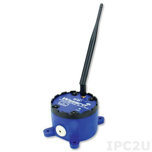 WSD2XVO Беспроводной датчик ускорения(вибрации), встроенный акселерометр, SmartMesh 802.15.4e, Bluetooth, внешняя антенна