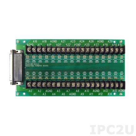 PCLD-881B-AE Плата клеммников для PCI-1713 и PCL-813B, до 15В