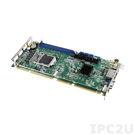 PCE-5029VG-00A1E Процессорная плата Half-Size PICMG 1.3, сокет LGA1151 для Intel 6th gen Core i7/i5/i3 с DDR4 2133/1866МГц SO-DIMM, VGA, DVI, DP, 1xGbE LAN, 2xCOM, 2xUSB 3.0, 7xUSB 2.0, 4xSATA III, LPT, GPIO, 1xPCIe x16, 1xPCIe x4, 4xPCI