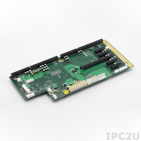 PCE-5B06-00A1E Объединительная плата PICMG 1.3, 6 слотов, 1xPICMG 1.3, 1xPCIe x16, 4xPCIe x1