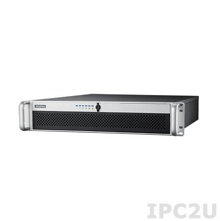 """HPC-7242MB-00XE 19"""" корпус 2U, для ATX плат, отсеки 4x3.25""""/2.5"""" SAS/SATA с горячей заменой, 1xSlim ODD, 2x2.5"""" внутренние, без блока питания"""