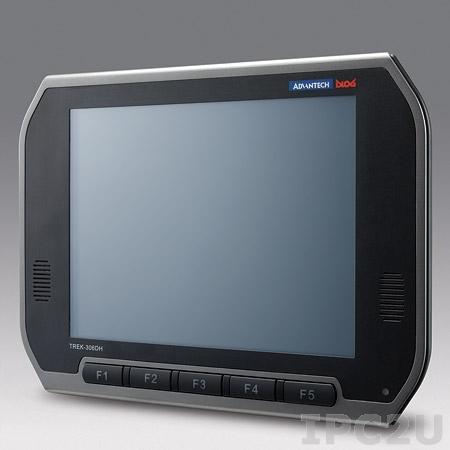 """TREK-306D-HA0E Монитор для транспорта с 10.4"""" TFT LCD c IP54 по всему корпусу, 1024x768, резистивный сенсорный экран, Smart Display port, 1xUSB 2.0, питание 12В DC"""